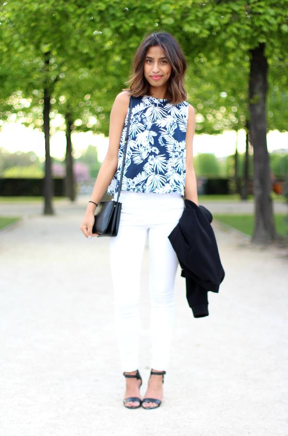 Palmtree & White