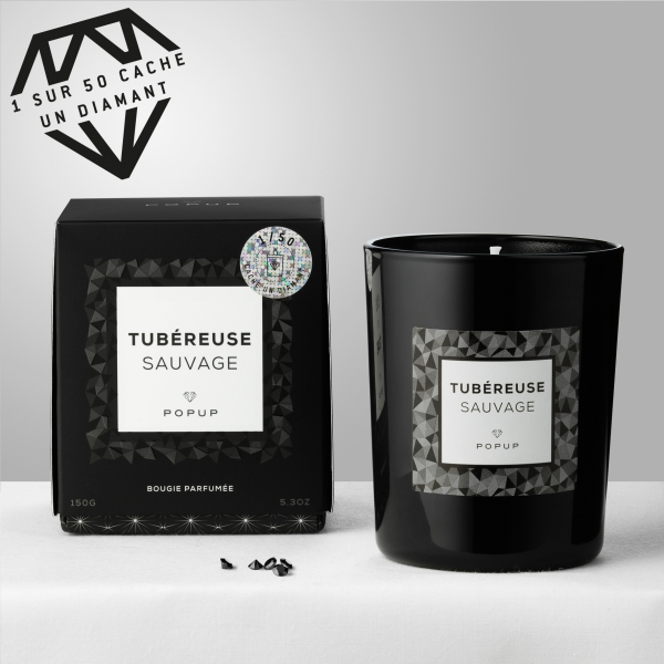 "Tubéreuse Sauvage ""Black Edition"", POPUP, 24,90€"