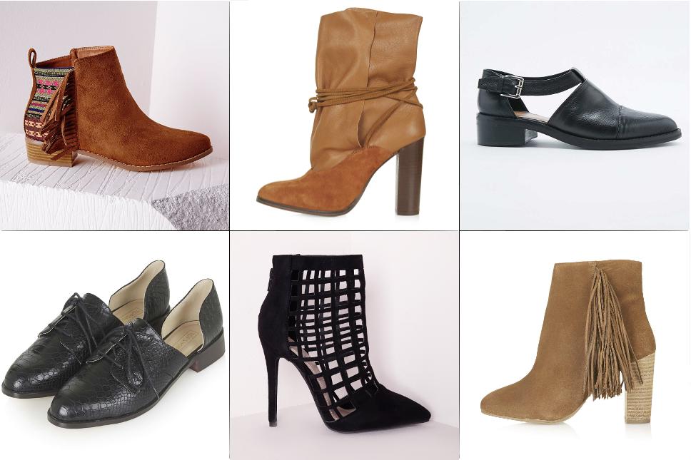 Sélection chaussures automne