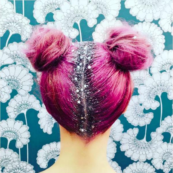 Hair glitter :