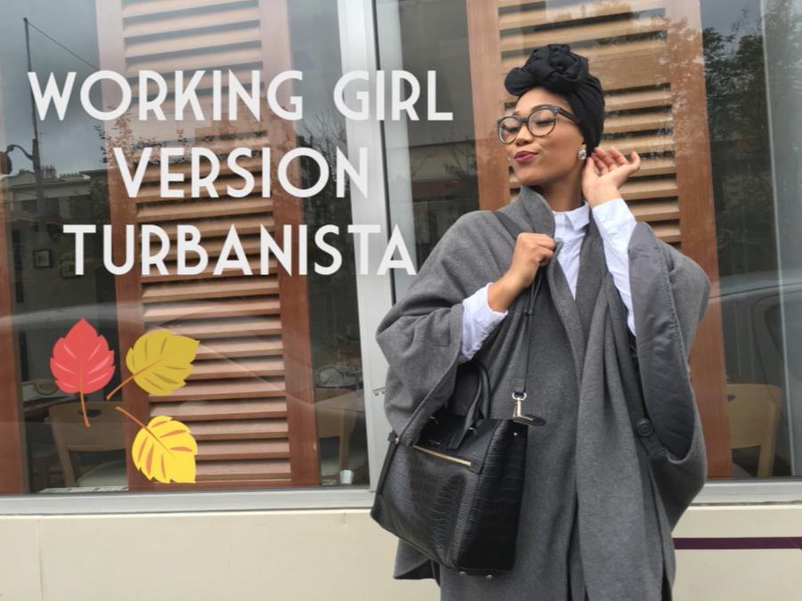 working girl version turbanista