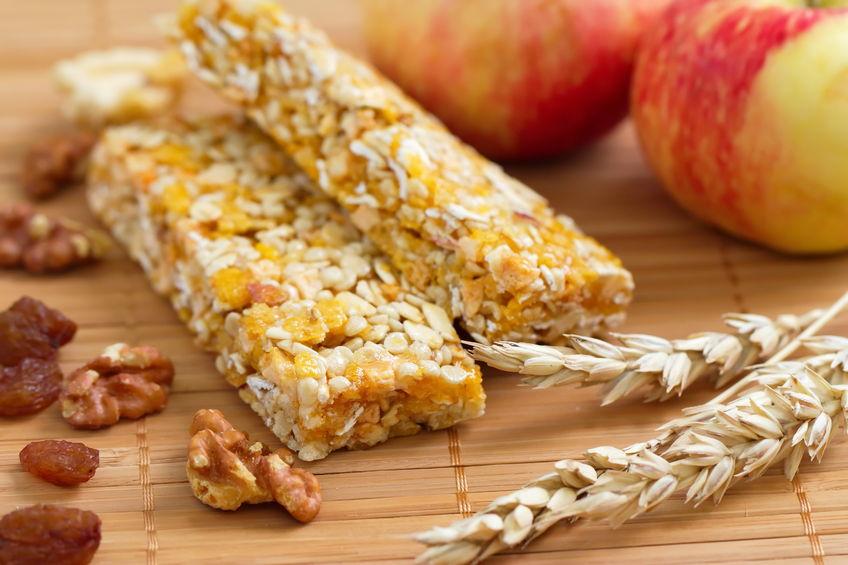 Barre céréales fruits