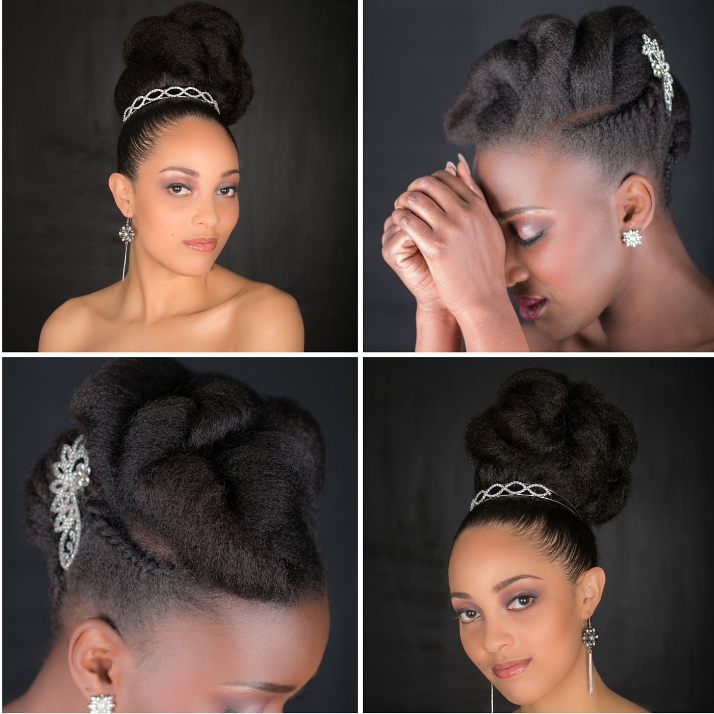 Cheveux Crepus Special Coiffures De Mariage L6mag