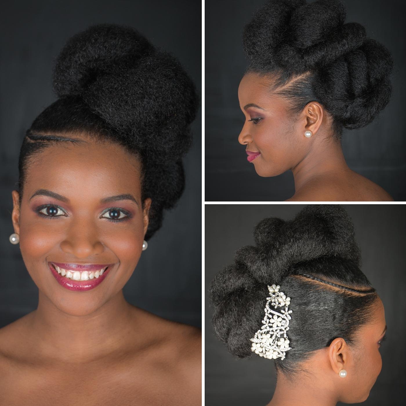coiffure de mariage pour femme noire fashion designs