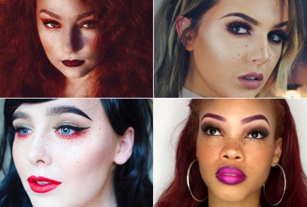 Les points de beauté, nouvelle tendance make-up ?