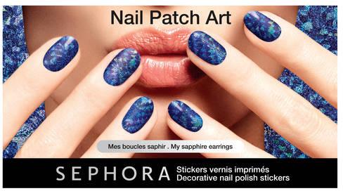 Sephora / Nail Patch Art / Stickers vernis imprimés