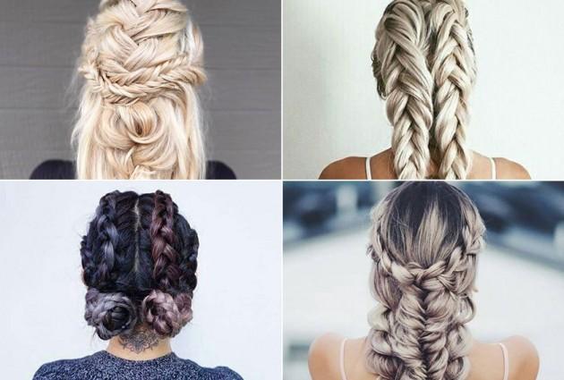 Sélection d'inspirations coiffures de fêtes