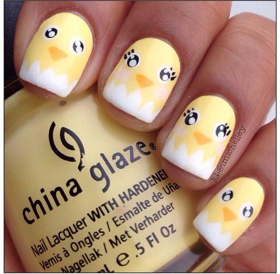 Pâques: Inspiration nail art