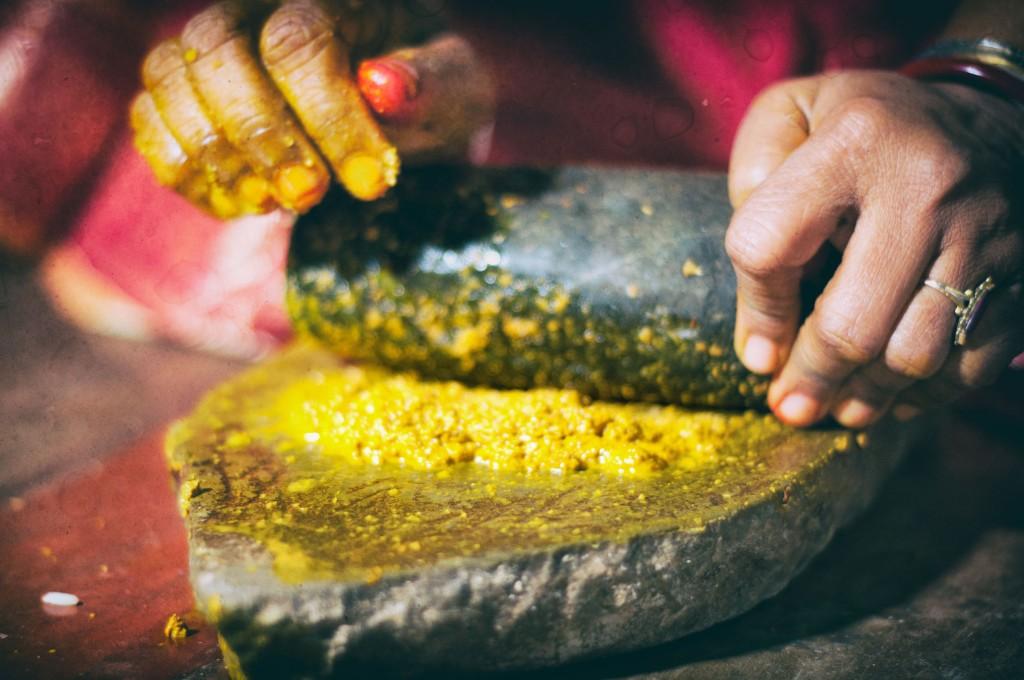 Mariage indien rituels haldi