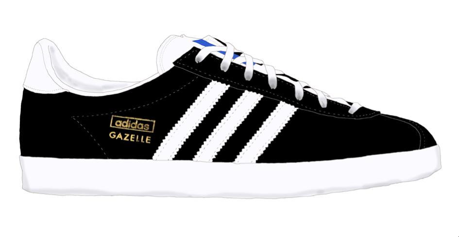 Modèle Gazelle de chez Adidas / 95€