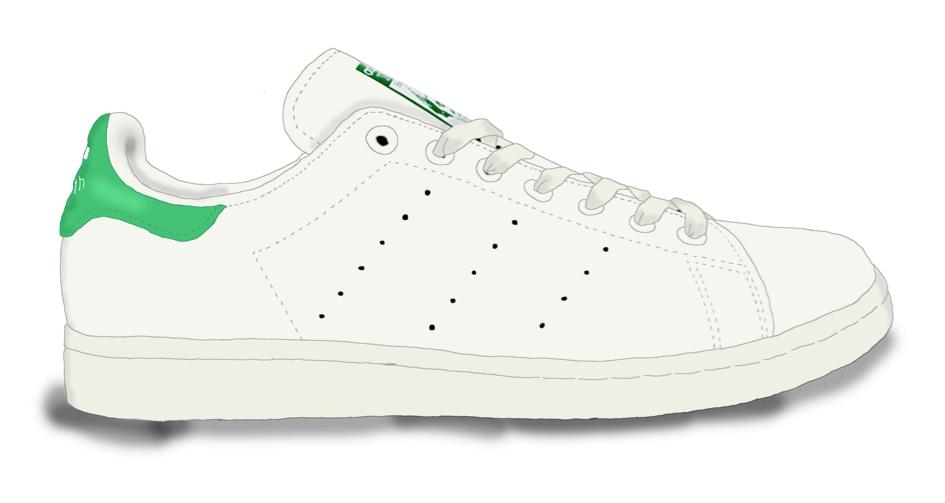Modèle Stan Smith de chez Adidas / 95€