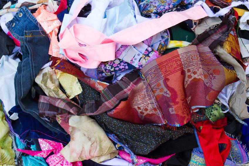 Fibres recyclées vêtements vegan