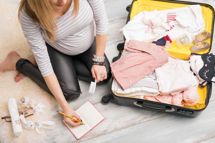 Bien préparer sa valise pour la maternité
