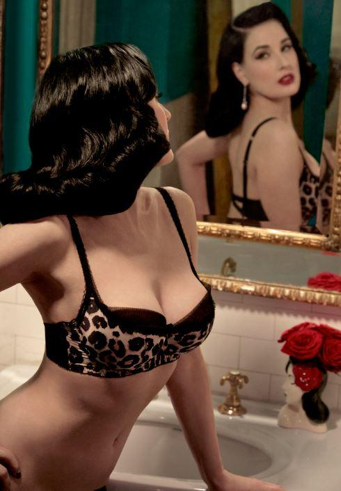 Glamuse : La lingerie de Dita Von Teese